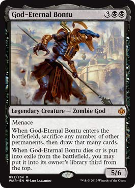 Magic: The Gathering - God-Eternal Bontu - War of The Spark