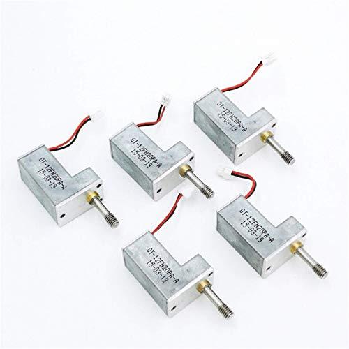 RUXMY Controlador de Motor Motor DC 5PCS / Lote 3V 5V 6V DC Motorreductor Tipo Micro Z, Motorreductor N20 en Miniatura, Engranajes Totalmente metálicos, Fácil de Instalar