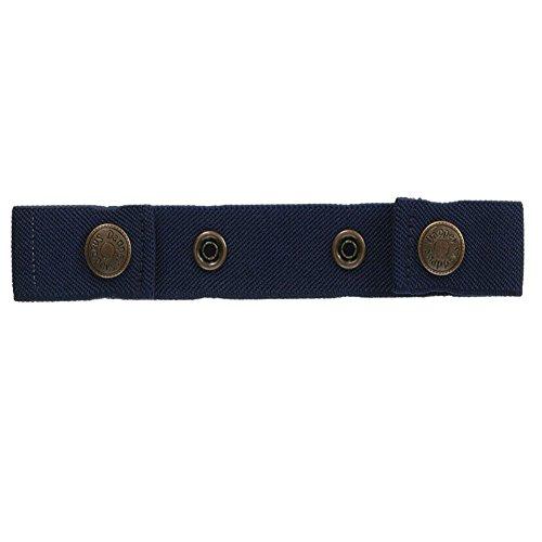 Dapper Snappers Original Toddler Solid Belts - Navy