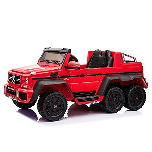 Millenium Baby MiniMe Dealership Mercedes Benz G63 AMG 6x6 Kids Battery Operated Car 12V with Remote