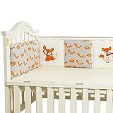Cuna para bebés Parachoques Toddle Guardería Ropa de cama Ropa de cama Cuna...