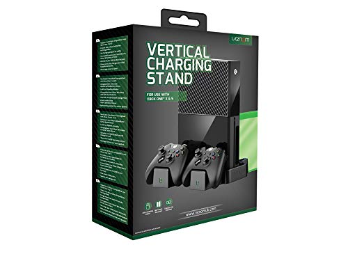Venom Xbox One per Xbox One X & S Supporto di ricarica verticale, Nero, [Edizione: Regno Unito]