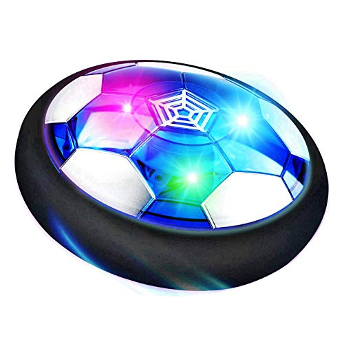 RONGGE Kids Toys Hover Soccer Ball Indoor Games Rechargeable Floating Air Soccer with LED Light Best Gifts for 3 4 5 6 7 8-12 Year Old Boys, Girls