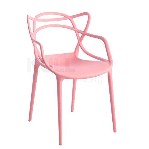KullDesign.com Silla Masters Style Rosa. Inspirada en el diseño de Philippe Starck para Kartell
