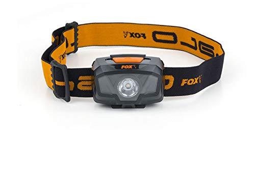 FOX Halo 200 Headtorch - Kopflampe zum Nachtangeln, Angellampe zum Waller- & Karpfenangeln, Anglerlampe, Lampe zum Angeln