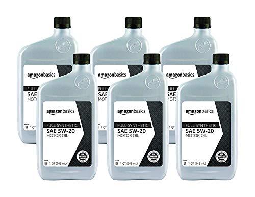AmazonBasics Full Synthetic Motor Oil