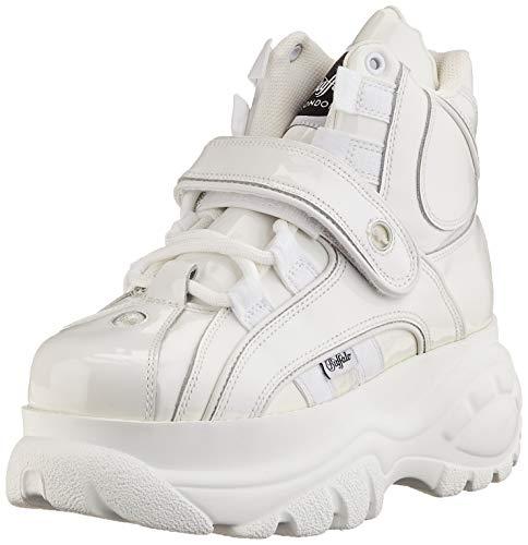 Buffalo London Damen 1348-14 2.0 Sneaker, White, 39 EU