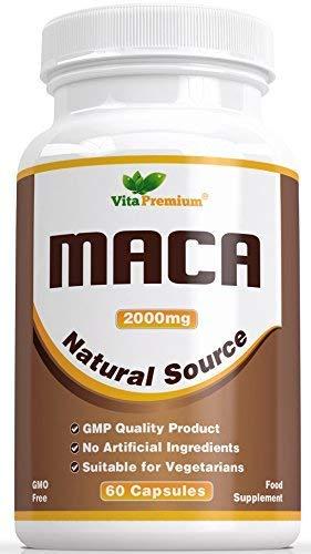 Cápsulas de Raíz de Maca 2000 mg –...