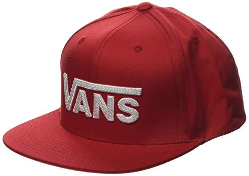 Vans Drop V II Snapback Gorra de béisbol, Rojo (Racing Red Izq), Talla Única (Talla del Fabricante: OS) para Hombre