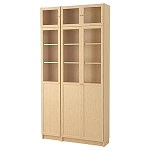 Zigzag Trading Ltd IKEA Billy/OXBERG - Librería Lámina de Abedul/Vidrio