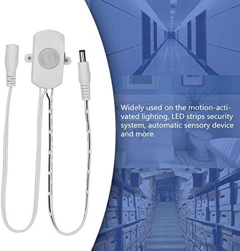 57m detectieafstand 120 graden detectiehoek Hoge gevoeligheid sensorschakelaar Sensorschakelaar voor LEDstrips beveiligingssysteemwhite