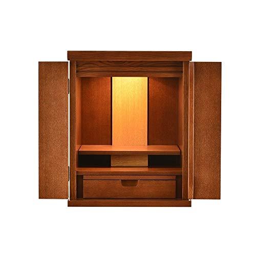 """18.9"""" Haushalts buddhistischer Altar mit Tür, Altar Kabinett Zen Kabinett Aufopferungs Supplies, Geeignet for Place Your Spiritual Dekoration Meditation"""