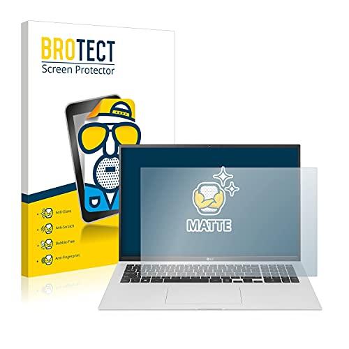 BROTECT Entspiegelungs-Schutzfolie kompatibel mit LG Gram 16'' 2021 Bildschirmschutz-Folie Matt, Anti-Reflex, Anti-Fingerprint