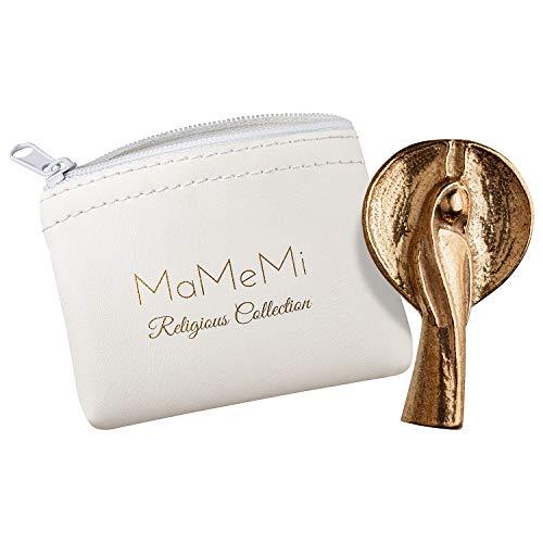 MaMeMi Bronze-Handschmeichler Dein Begleiter auf Allen Wegen in edlem Aufwahrungsetui