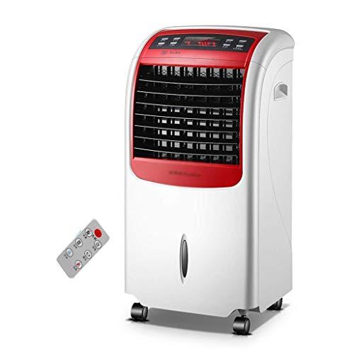 Aire Acondicionado Portatil Enfriador de aire enfriador de aire portátil de 8 litros, pantalla LED, 3 velocidades de ventilador, temporizador de 24 horas, control remoto, 10,000 BTU Aire acondicionado