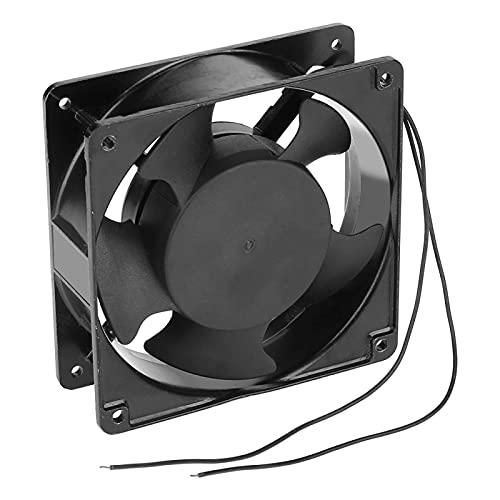 Micro ventilador de enfriamiento, 12 × 12 × 4 cm 220 ~ 240 V Ventilador Incubadora alimentado por CA,Ventilador de enfriamiento eficiente portátil para incubadora de huevos con capacidad 88-1232