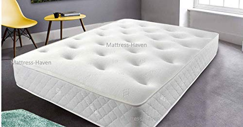 Mattress-Haven Orthopaedic Memory Foam Mattress | Anti Allergy | Rolled Up | Made in UK | 4FT - Small double