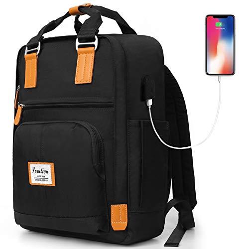 Backpack Women & Men,College Bookbag High School Backpack for Girls & Boys Teenagers,Backpack Business Laptop Backpack with USB Charging Port
