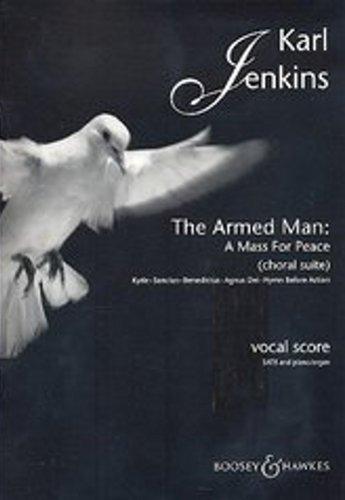 BOOSEY & HAWKES JENKINS KARL - THE ARMED MAN: A MASS for PEACE - MIXED CHOIR EN PIANO Klassieke platen Choral en vocale ensembles