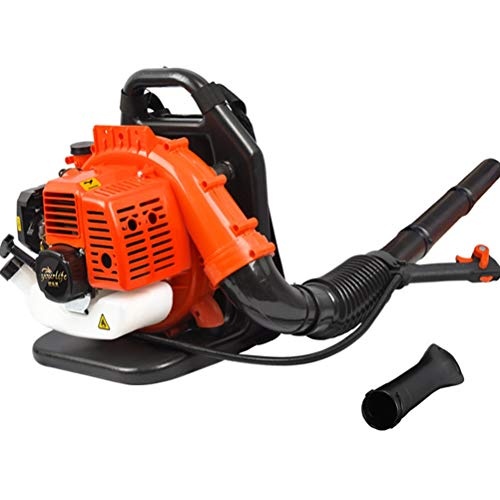 ZWYSL 2-Cycle Gasoline Blower, Engine Backpack Gas Powered Leaf Blower with Nozzle Extension for Lawn Care