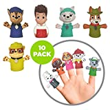 Ginsey Piece Party Finger Puppet Set, Paw Patrol, Pack