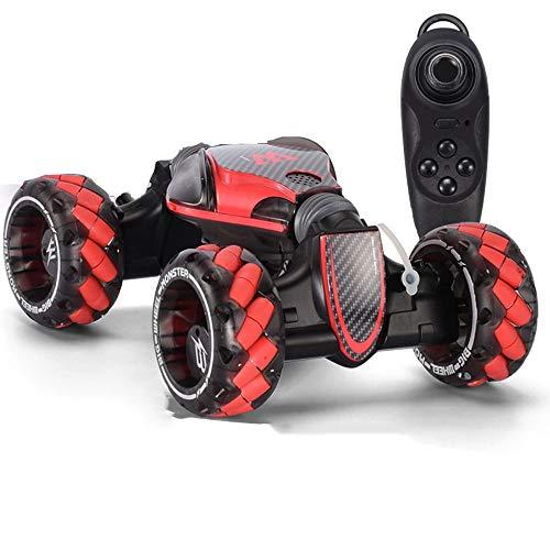 DBXMFZW Juguete de control remoto fuera de carretera con música Luz de juguete de automóvil con función de aerosol 2.4G Modo de doble deformación Coche Terreno Deriva Deriva Juguetes de juguete para a