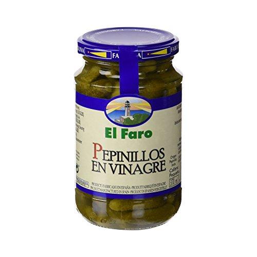 El Faro - Cetriolino sottaceto per preparare le migliori tapas - 350 g