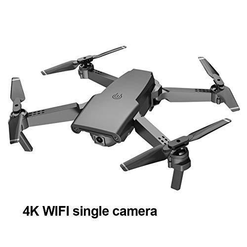 Boomboo Drone Quadcopter S8 4K Drone de Video en Vivo con cámara Dual Drone Plegable con Altitude Hold Funciones del Modo sin Cabeza 6-Axis Gyro 15mins Flight Time Drone Quadcopter para Principiantes