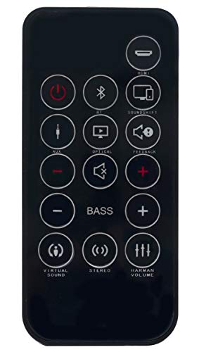 New Replaced Remote fit for JBL Cinema SB250 SB350 STV250 Home Cinema 2.1 soundbar with Wireless subwoofer