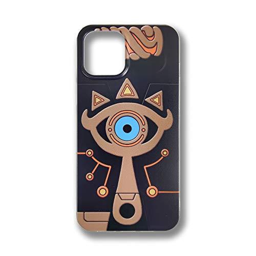 The Legend of Zelda Breath of The Wild Zelda Sheikah Eye Schutzhülle für iPhone 12