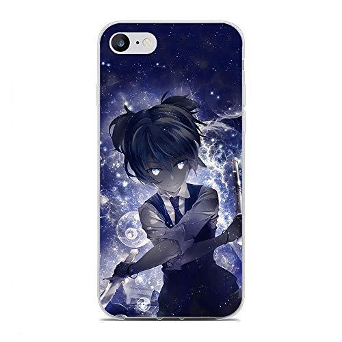 ZCEDCVRE Soft Clear Shockproof Thin Durable Flexible Case for Apple iPhone 7/8/SE 2020-Karma-Koro Nagisa-Assassination Classroom 5