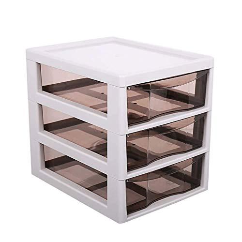 JJZXT Kunststoff-Schubladenwürfel Aufbewahrungsbox Organizer Station for Baby- / Kinderzimmer, Wickeltisch, Kinderzimmer oder Spielzimmer - Organisation for Windelcremes, Salben, Zubehör - Weiß/Durc