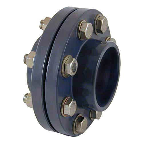 PVC-Flanschkupplung (Komplettsatz) 110 mm