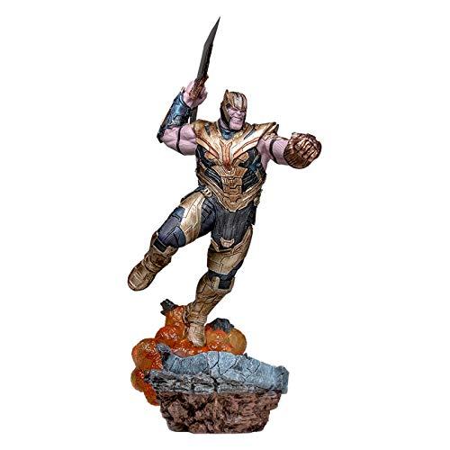 Marvel Iron Studios Avengers Endgame Thanos Deluxe Art Scale Statue
