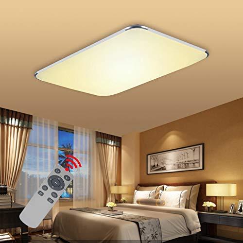BFYLIN 72W Regulable Ultraslim LED Lámpara Moderna Del Techo Lámpara De Techo Pasillo Salón Dormitorio De La Lámpara Ahorro De Cocina 50HZ Luz 85V-265V De Luz (72W Regulable)