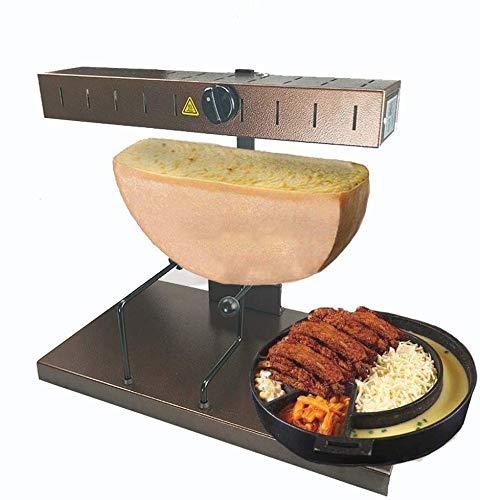 DOFU Kommerzielle Raclette-Maschine Cheese Melter Electric für eine Hälfte der...