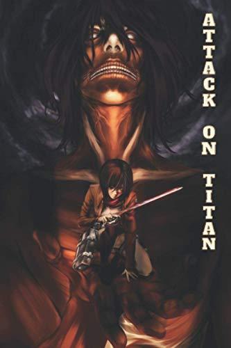 Attack on Titan Composition Notebook: manga attaques des titans journal ( Attack on Titan 1 2 3 4 5 to 30 31 32 33 manga ) Colossal Titan Eren Yeager Mikasa Ackerman