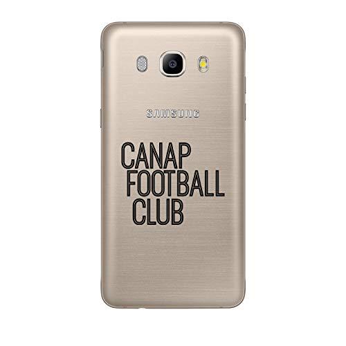 Zokko - Carcasa para Samsung Galaxy J5 2016, diseño de fútbol, Color Negro