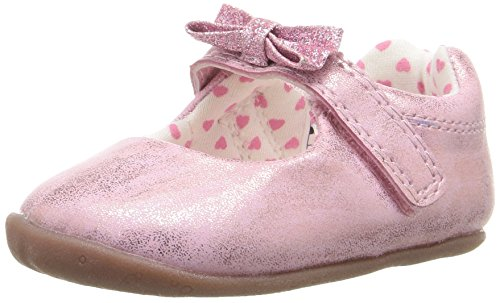 Carter's Every Step Stage 2 Girl's Standing Shoe, Sarah, Pink, 4.5 M US Toddler