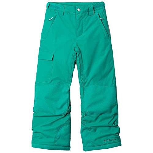 Columbia Bugaboo II Pantalon de Ski Unisex Kids, Emerald Green, XS