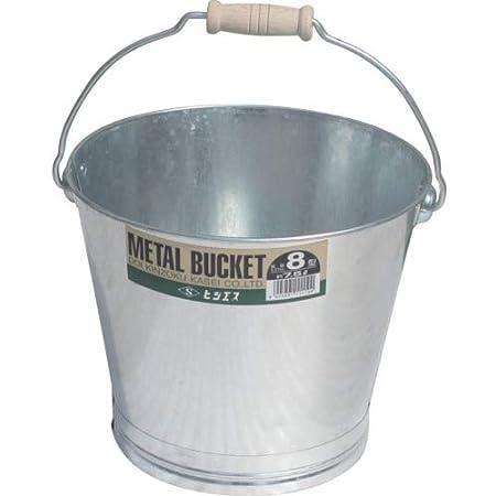土井金属 トタンバケツ8型(約7.5L)