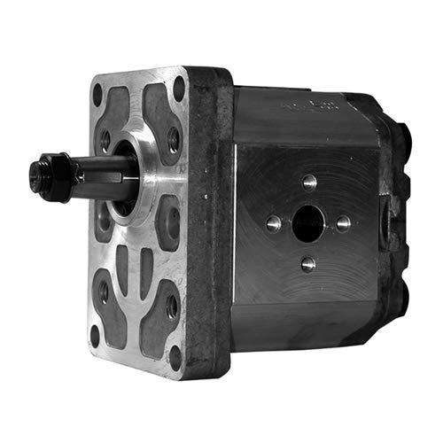 Hydraulische pomp voor Massey Ferguson / Landini, G / LH rotatie, 11 CC, debiet, 15 / 17 mm Ø as, 72 / 96 mm, afstand van de bevestiging.