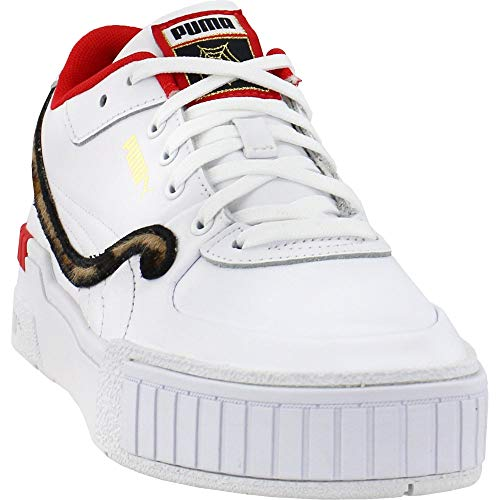 PUMA Womens Cali Sport X Charlotte Olympia Lace Up Sneakers Shoes Casual - White - Size 5.5 B