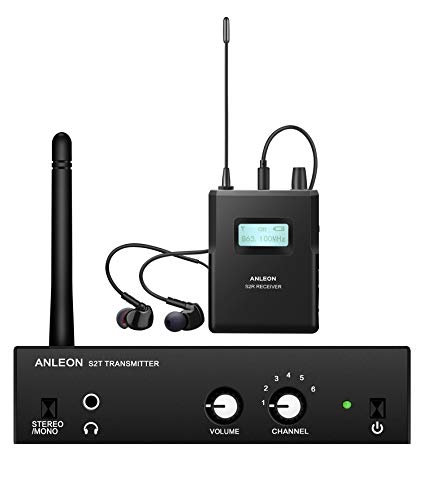 Anleon S2 professionelles drahtloses In-Ear-Monitorsystem 1 Transmitter & 1 Receiver