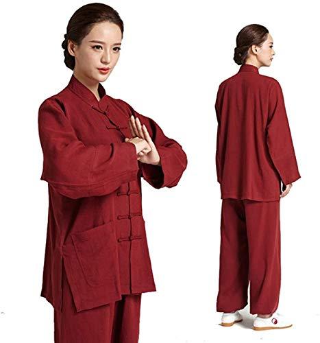Guiob, vestito da meditazione Zen da donna, da uomo, Tai Chi Kung Fu