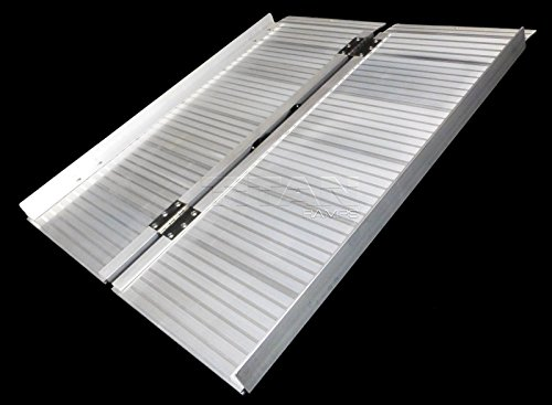 Titan 3' Briefcase Fold Utility Loading Ramp for Wheelchairs...