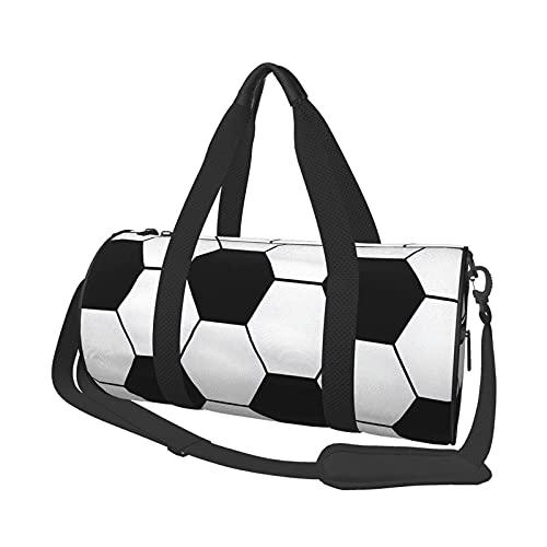 Borsone da viaggio per palloni da calcio, rotondo, leggero, per uomo e donna