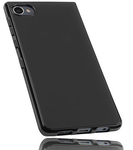 mumbi Hülle kompatibel mit BlackBerry Motion Handy Hülle Handyhülle, schwarz