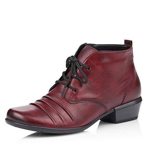 Remonte Stiefeletten in Übergrößen Rot R8372-35 große Damenschuhe, Größe:44