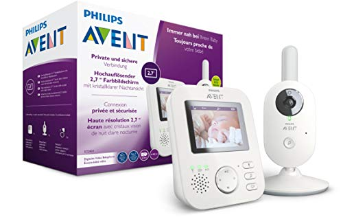 Philips AVENT SCD833/26 Video-Babyphone, weiß